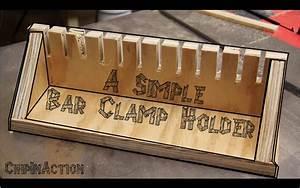 Bar Clamp Holder - YouTube