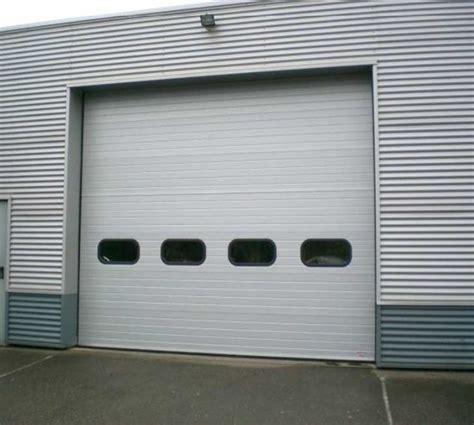 les industrielles d occasion electrovolet portes sectionnelles industrielles