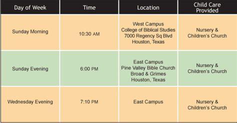 Pine Valley Bible Church Houston