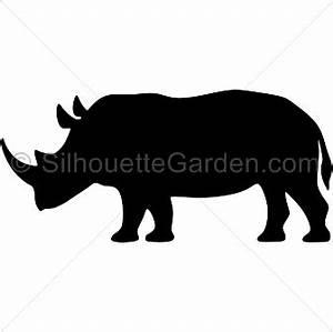 Rhino Silhouette Clip Art (38+)