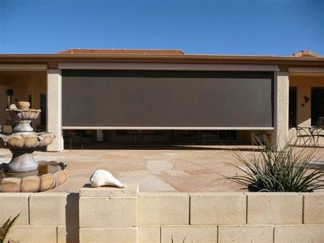 retractable sun shades for patios decks outdoor living