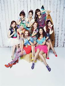 Girls' Generation Promotional Pictures from Casio 'Baby-G ...  Snsd