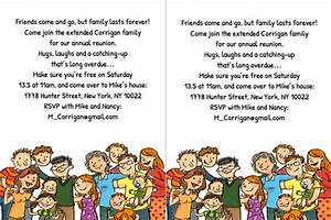 Family Reunion Templates Letter - Hot Girls Wallpaper
