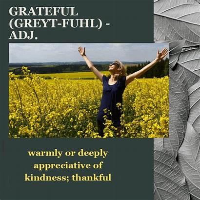 Grateful Happiness Gratitude Everlasting Secret Kindness