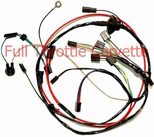 1976 Corvette Air Conditioning Ac Wiring Harness New