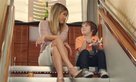 aniston shower aniston in lighthearted emirates ad