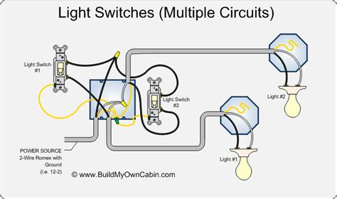 how do you wire a light switch wiring multiple switches to multiple lights diagram