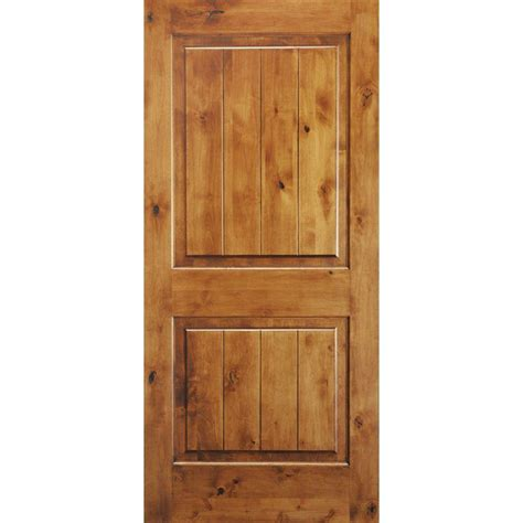 home depot interior door krosswood doors 18 in x 80 in knotty alder 2 panel