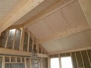 Pose De Lambris Bois : lambris bois mural photos devis pour travaux creteil ~ Premium-room.com Idées de Décoration