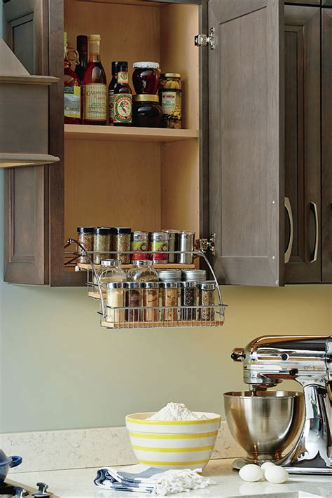 pull  spice rack homecrest cabinetry