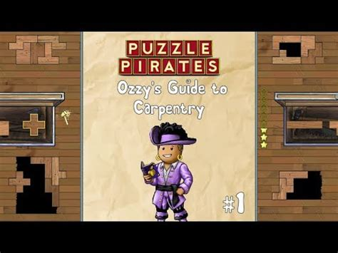 puzzle pirates carpentry guide     incredible