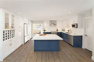Blue, Cabinets, Deliver, Punch, To, Kitchen, Reno, U2013, Modern, Home, Magazine