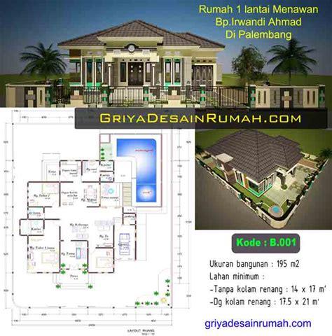 desain denah rumah super mewah impian    lantai