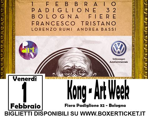 Ingresso Fiera Bologna by Kong Week Bologna Fiere Boxer Ticket
