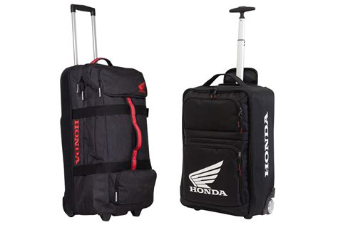rolling bag reviews product honda gear and travel bags motoonline com au