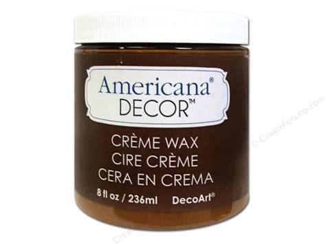 Americana Decor Creme Wax by Decoart Americana Decor Creme Wax 8 Oz Golden Brown