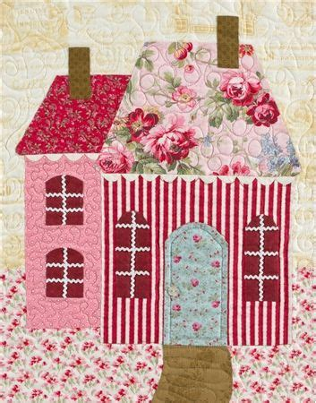 shabby fabrics sweetheart houses 17 best images about a quilt house tree flower on pinterest quilt sweet home and quilting