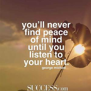 17 Quotes About Finding Inner Peace | SUCCESS