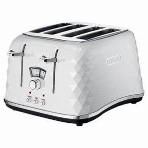 Toaster Retro Design : buy delonghi brillante ctj4003 w designer 4 slice toaster white from our toasters range tesco ~ Frokenaadalensverden.com Haus und Dekorationen