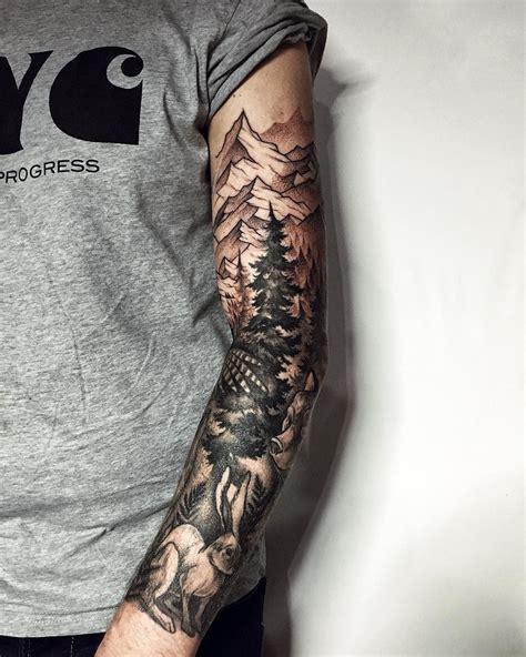 animals tattoo ideas tattoos forest