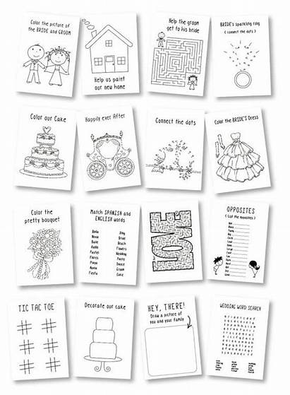 Activity Coloring Activities Rustic Table Books Games