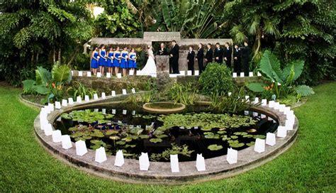 fairchild tropical botanic garden gt wedding