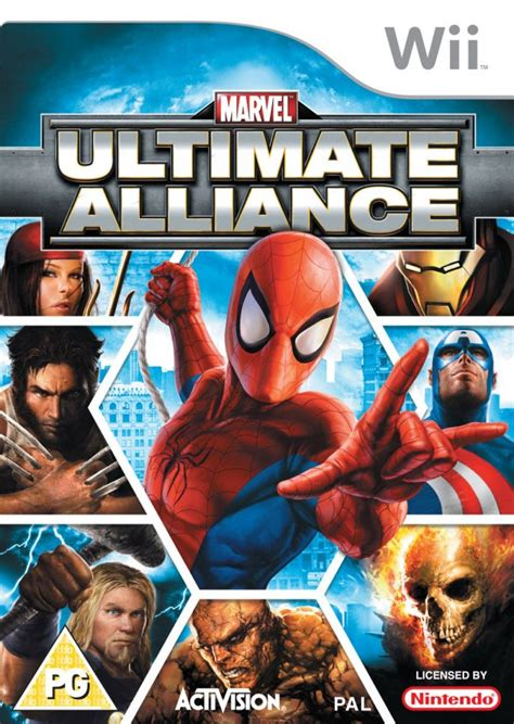 Marvel: Ultimate Alliance (Wii) Game Profile   News ...