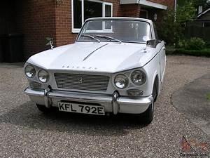 Triumph Vitesse : 1967 triumph vitesse mk1 2ltr convertable 6 cylinder engine with overdrive ~ Gottalentnigeria.com Avis de Voitures