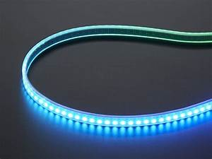 Led Stripes : adafruit mini skinny neopixel digital rgb led strip 144 led m 1m white id 2969 ~ Watch28wear.com Haus und Dekorationen