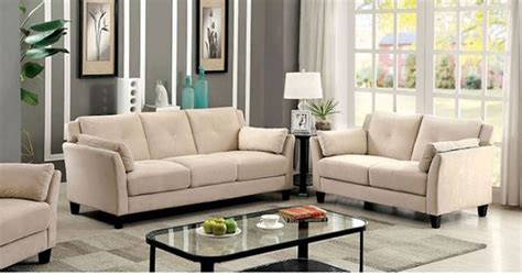 cm ysabel beige sofa set collection