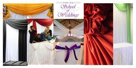 wedding draping  wedding draping