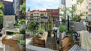 Amenager Petit Balcon Appartement : comment am nager son balcon lorsqu 39 il n 39 est pas tr s grand ~ Zukunftsfamilie.com Idées de Décoration