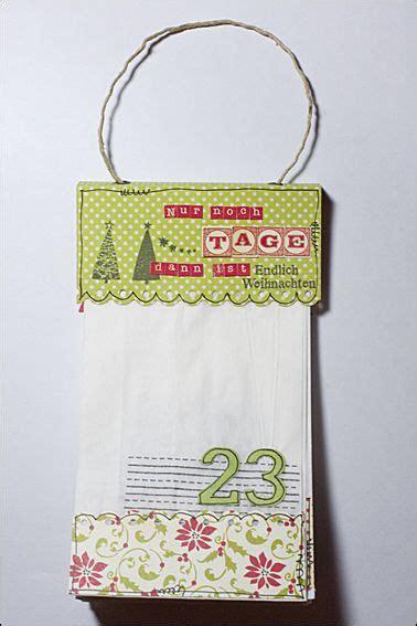 ideen basteln mit kleinkind adventskalender aus butterbrott 252 ten mit anleitung auf dem