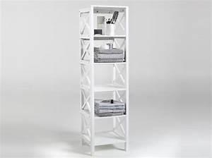 Meuble Rangement Salle De Bain But : 40 armoires de salle de bains elle d coration ~ Dallasstarsshop.com Idées de Décoration