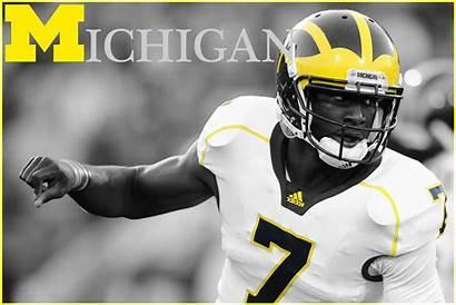 Football Michigan Wolverines Wallpapers Desktop Newton Cam