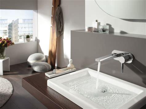 robinetterie salle de bains living hansa robinetterie murale de lavabo id 233 esmaison