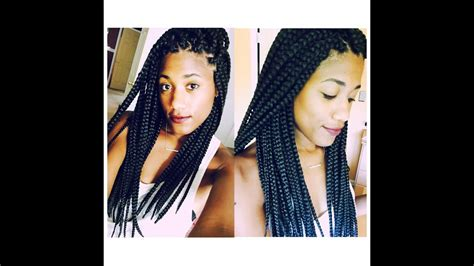 seal  ends   box braids youtube