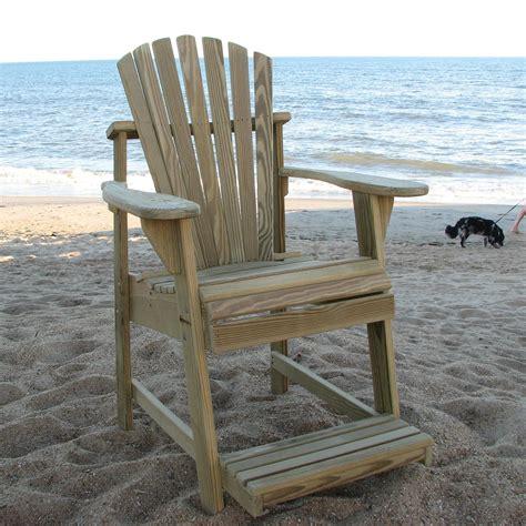 Outdoor Balcony Chairs by Weathercraft Designers Choice Treated Balcony Adirondack