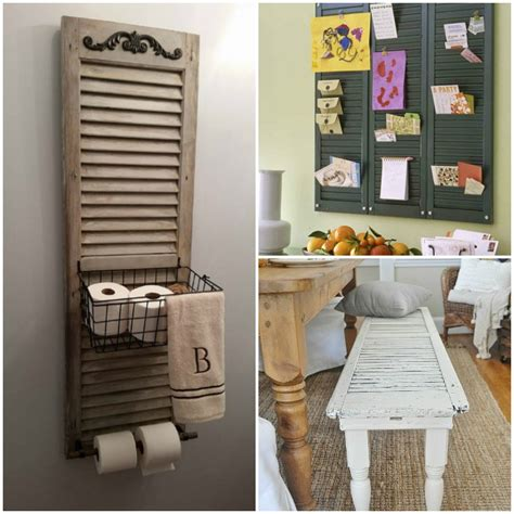 craft shutters 17 ways you ve never thought to reuse old shutters