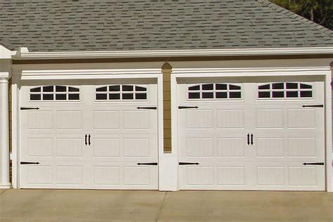 9x7 Garage Door by 9x7 182 Door With Cascade Windows Carriage Hardware Www