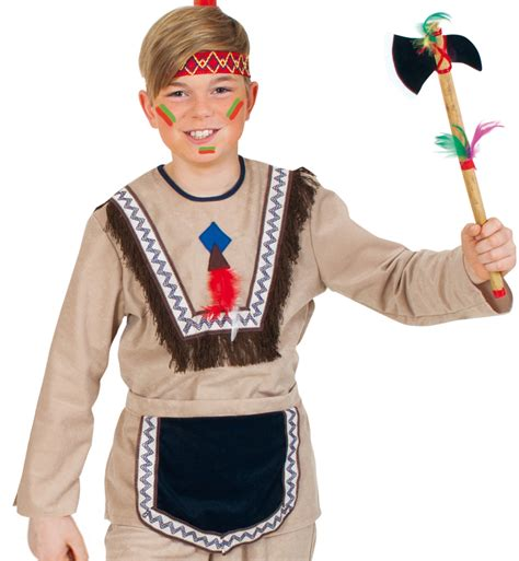 fasching kostüm junge kinderkost 252 m quot mohikaner junge quot karneval fasching mottoparty karnevalsteufel de