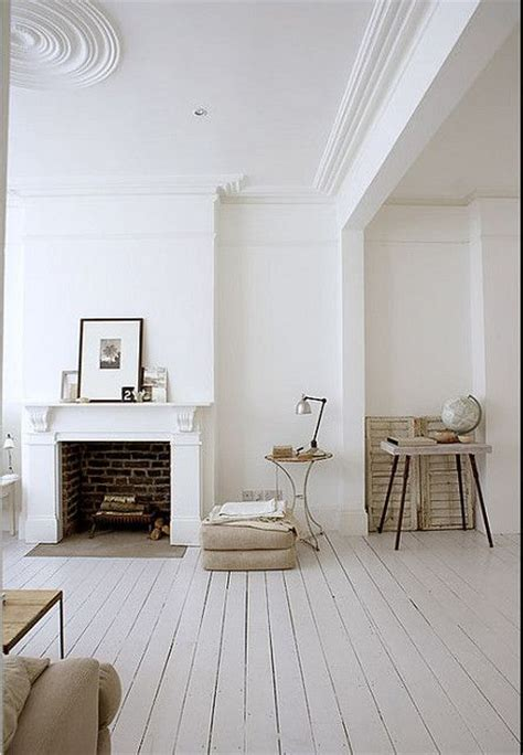 white and shabby scandinavian living white wooden floors mantel fireplace details decor scandinavian rustic vintage bedroom
