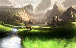 Mountain Landscape by Fel-X on DeviantArt