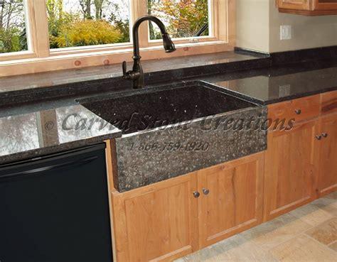 elegant natural stone kitchen sink designs