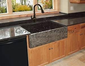 Elegant, Natural, Stone, Kitchen, Sink, Designs