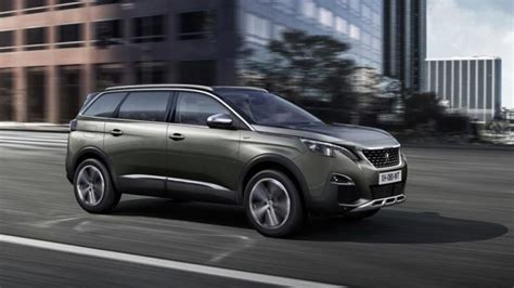 peugeot new car prices new peugeot 5008 crossover 2017 prices and equipment