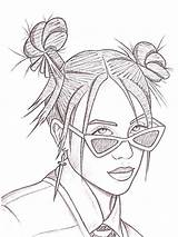 Billie Eilish Coloring Pages Drawing Dylan Printable Sketches Kresby рисунки Outline Mycoloring Sketch Zeichnen Print хипстерские Kunst Maedchen Zeichnungen Easy sketch template