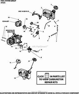 Husqvarna Kohler 149 Cc Carburetor Diagram