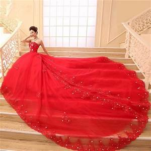 dentelle rouge robes de mariee robe de bal sweetheart With robe de bal rouge