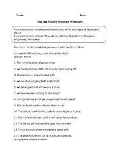 worksheets images worksheets pronoun worksheets